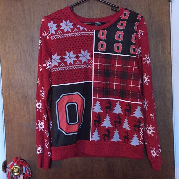 Rue 21 Sweaters Ohio State Ugly Christmas Sweater Poshmark